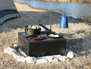 Portable Barbecue Pit
